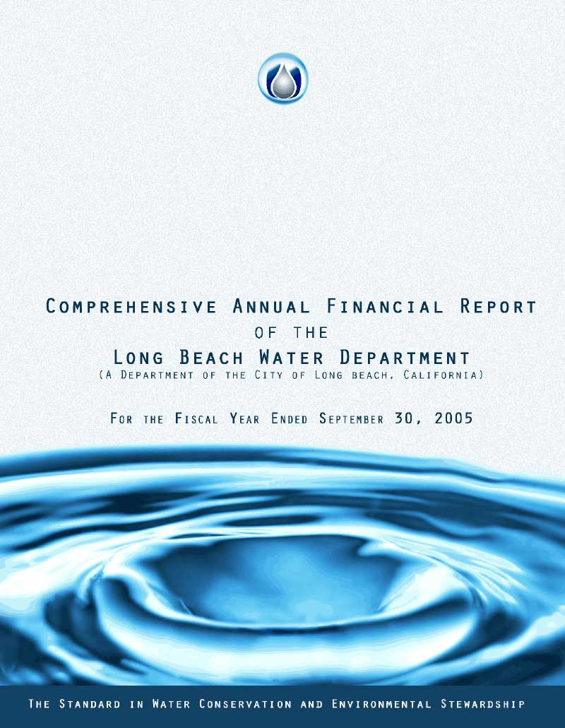 FY 2005 - LBWD Comprehensive Annual Financial Report