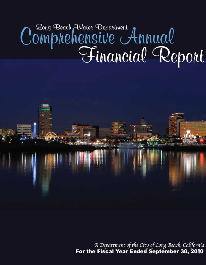 FY 2010 - LBWD Comprehensive Annual Financial Report