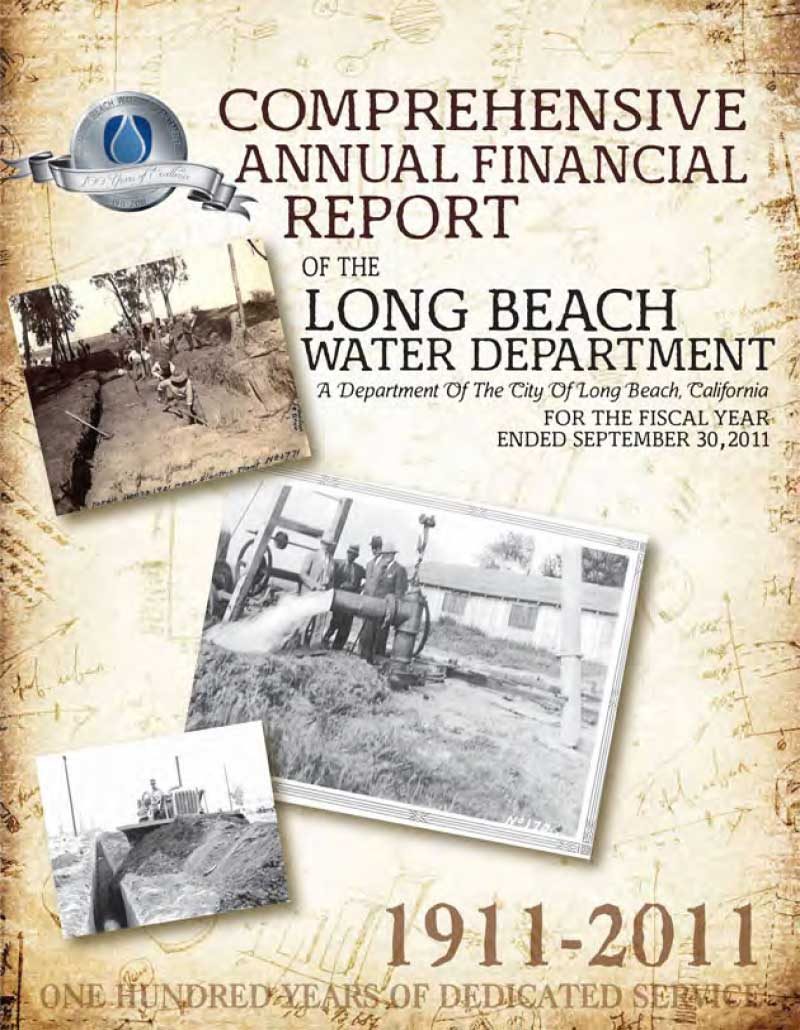 FY 2011 - LBWD Comprehensive Annual Financial Report
