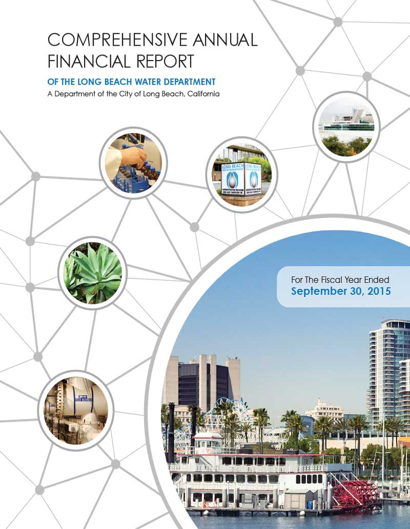 FY 2015 - LBWD Comprehensive Annual Financial Report