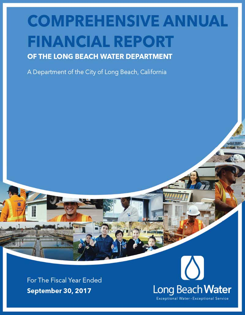 FY 2017 - LBWD Comprehensive Annual Financial Report