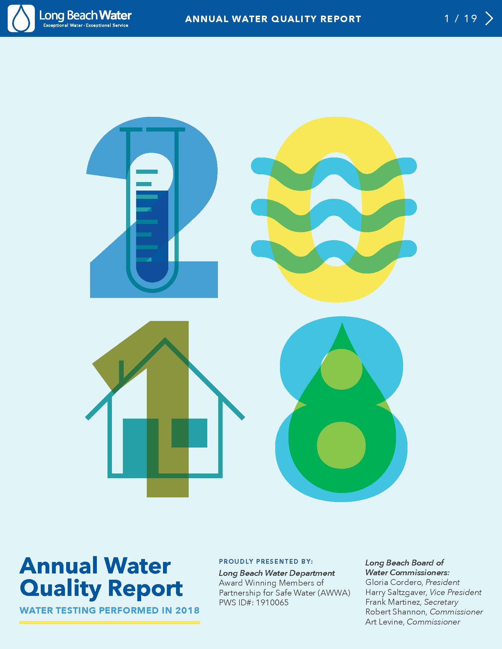 Water Quality Report – Long Beach Water Department