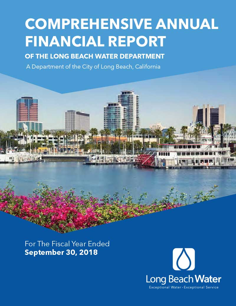 FY 2018 - LBWD Comprehensive Annual Financial Report